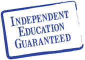 Independent Education Guaranteed